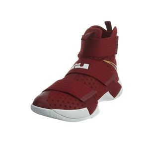 NIKE LEBRON SOLDIER XII TB SHOES, BURGUNDY 15